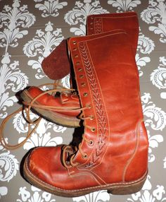 A personal favorite from my Etsy shop https://www.etsy.com/listing/224513670/1970s-vintage-tall-size-8-womens-boots