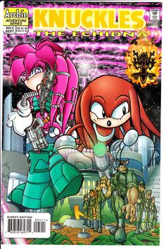Archie Comics KNUCKLES the ECHIDNA 1997 #5 VF+ Sonic the Hedgehog