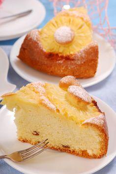 Tasty, Yummy Food, Sponge Cake, Vegan Sweets, French Toast, Pineapple, Vegan Recipes, Cheesecake, Food And Drink