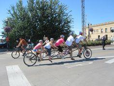 5-person bike!