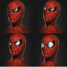 """(@spidey.marvel) på Instagram: """"The different expressions  New concept art - - - [ #spiderman #marvel #spidermanhomecoming…"""""""