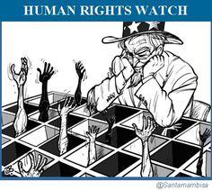 CNA: Human Rights Watch: ¿demasiado alineada con la política exterior del régimen de EEUU?