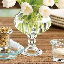 Southern living small hurricane vases for low arrangement with white peonies Billy Collins, Hurricane Vase, Willow House, New Paint Colors, Persian Wedding, White Tulips, Mason Jar Wine Glass, Glass Containers, Decoration