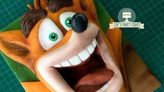 How to make a Crash Bandicoot cake for all you playstation fans! Perfect video game cake to make! I decided to make a Crash Bandicoot cake for the release of. Crash Bandicoot, Zoes Fancy Cakes, Video Game Cakes, Cake Models, Sculpted Cakes, Cake Games, Cake Youtube, Fondant Tutorial, Modeling Chocolate