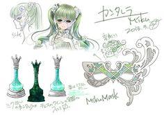 Miku Hatsune Cantarella character sheet.