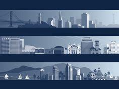 City Skylines #illustration #inspiration #design