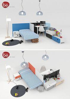 be room modular Novedades en la Feria de Milán... Mobiliario Be