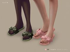 Sims 4 CC's - The Best: Bow Slides by SLYD