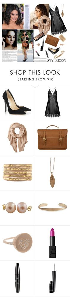 """Senza titolo #4298"" by waikiki24 ❤ liked on Polyvore featuring Vanity Fair, Jimmy Choo, Topshop, Michael Stars, Mulberry, Chan Luu, AURUM by Guðbjörg, Splendid Pearls, BP. and Carolina Bucci"