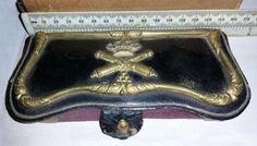 Cartucherín de gala de Artillería. Época Alfonso XIII