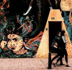 Arte urbano. #art #graffiti #arteurbano #bogotacity #bogota