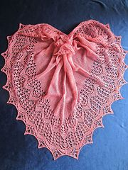 Ravelry: Tuch / shawl *LadyHanna* pattern by Birgit Freyer 2 ply 600 m