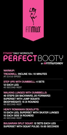 FitMiss Perfect Booty Workout