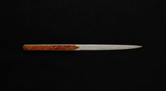 Paper Knife 'Anmon' by Nigara Zen, Forging Knives, Paper, Originals, Sushi, Luxury, Cooking, Kitchen, Handmade