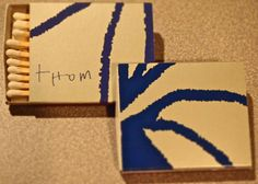 THOM Restaurant, NYC. Circa 2000. Japanese produced BX5 22 stick box. Pic. by Joe Danon. www.GetMatches.com