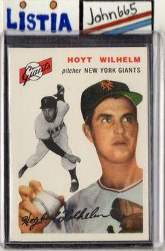 HOYT WILHELM - 1994 TOPPS ARCHIVES 1954 SERIES #36 - MINT - NEW YORK GIANTS - FREE S/H