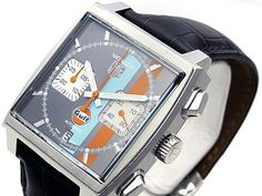 Tag Heuer Monaco Automatic Mens Watch CAW2113.FC6250
