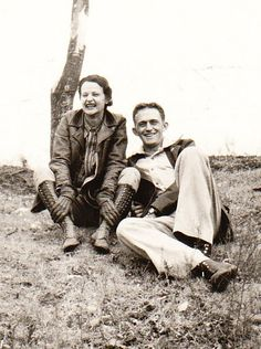 Uncle Fred Tims and Aunt Estella Kendall Tims
