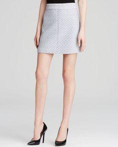 Theory Nishol Heightened Tweed Skirt - Bloomingdale's Exclusive