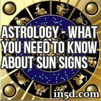 Astrology - What You Need to Know About Sun Signs | In5D.com - A good article, easy to read and understand. Option for free Astrology Chart with explanations.