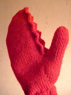 claw mittens from ravelry