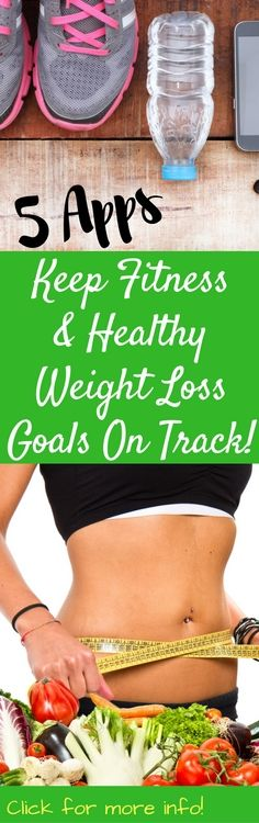There are plenty of apps for Healthy Weight Loss and Fitness to make it easier to stay on top of my health goals and I've found five apps that can do just that. These five apps will help me keep my fitness and healthy weight loss goals on track!