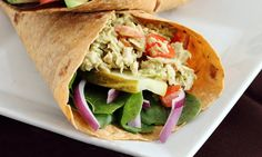 Avocado Tuna Salad Wrap – Recipe - Spry - Healthy Living and Wellness for Women