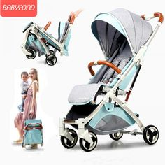 Light Weight Aluminum Alloy Stroller  Price: 289.00 & FREE Shipping  #babyclothes