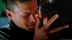 Michael and Sara (Prison Break) *tears