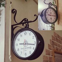 Daiso/時計/100均/キャンドゥ/セリア/DIY…などのインテリア実例 - 2016-03-15 11:51:27 | RoomClip(ルームクリップ) Diy And Crafts, Clock, Cool Stuff, Interior, Wall, Inspiration, Home Decor, Watch, Biblical Inspiration