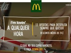 Vales de Desconto - Novos Vales McDonald`s! - http://parapoupar.com/vales-de-desconto-novos-vales-mcdonalds/