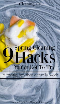 Spring Cleaning   Cleaning Your Home   Deep Cleaning   Cleaning Hacks   Cleaning Tips   Tidying