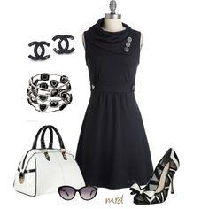 Art Little Black Dress my-dream-closet