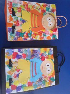 Saco da prenda dia do pai Kindergarten, Fathers Day Crafts, 4 Year Olds, Summer Activities, Preschool Crafts, Mother Gifts, Prayers, Arts And Crafts, Parents