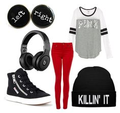 """""""Untitled #343"""" by emilyolson2019 on Polyvore featuring Superga and Paige Denim"""