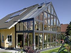 Зимний сад в частном доме: фото, видео