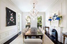 Neoklassisches Interior Design eines Penthouses in New York City