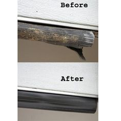 ProSeal Garage Door Seal (20 ft.) -$21.95- Replace worn or damaged garage door seals Easily replace worn or damaged seals at the bottom of your garage door. Simply remove the old seal and slide on or attach the new Seal with nails. The ProSeal is designed to keep out dirt, leaves, rain, and snow, and to prevent pests from sliding underneath. It also reduces heating/cooling loss.