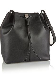 The Row|Textured-leather bucket bag|NET-A-PORTER.COM