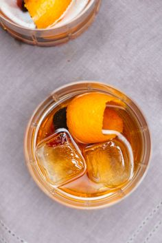 The Autumn Old Fashioned is a perfect simple cocktail for the fall or winter