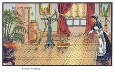 What people in 1900 thought the year 2000 would look like - The Washington Post --- An early Roomba!