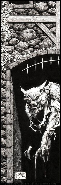 01/29 Bampre / Fantasia-SciFi _ Werewolf by andybrase.deviantart.com on @deviantART