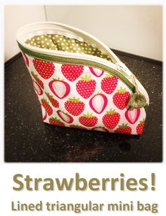 Strawberries! (01) Louis Vuitton Neverfull, Mini Bag, Strawberries, Tote Bag, Bags, Collection, Jewelry, Handbags, Louis Vuitton Neverfull Damier