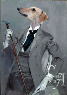 """ a greyhound in this bespoke suit"" or could it be Robert de Montesquiou - one of the chief models for Baron de Charlus"