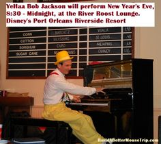 YeeHa Bob Jackson's boogy-woogy sing-along is a ton of fun and there is no cover charge. (Disney World)