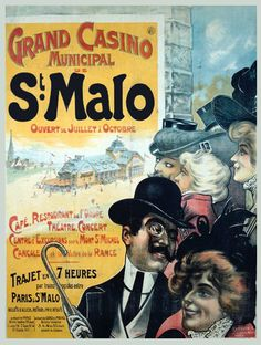 Grand Casino Municipal de Saint-Malo - Bretagne - France -