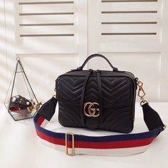 Gucci woman marmont document luggage bag original leather