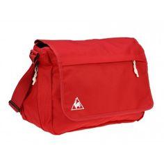 Geanta Le coq sportif Messenger Chronic crimson Bags, Handbags, Taschen, Purse, Purses, Bag, Totes, Pocket