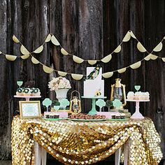 Cute party idea for a Bride to Be!
