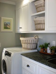 "classic • casual • home: The ""Joy"" of Doing Laundry--10 Steps Baskets for missing socks, lingerie, etc."